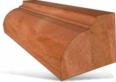 French Traditional Table Edge 1 1/2′ X 5/8′ 1/2′ Shank