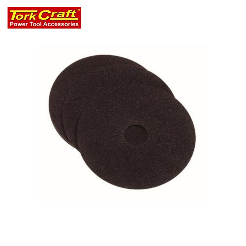 Fibre Disc 180mm 100 Grit 5/Pack