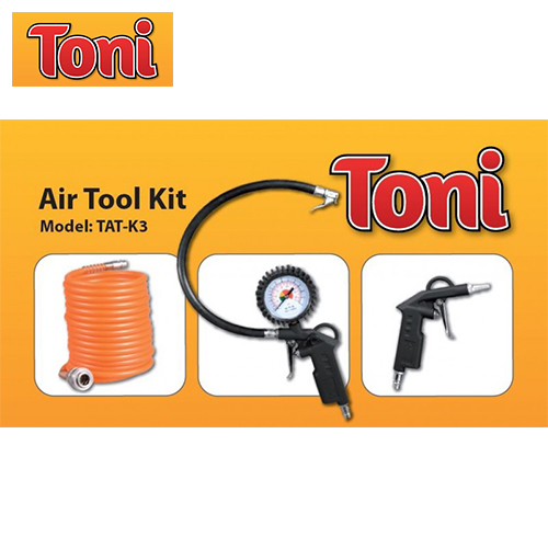 Toni TAT-K3 3 Piece Air Tool Kit