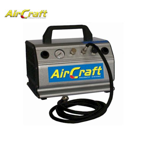 Airbrush Comp 1/5 HP W/Hose & Filter Double Outlet