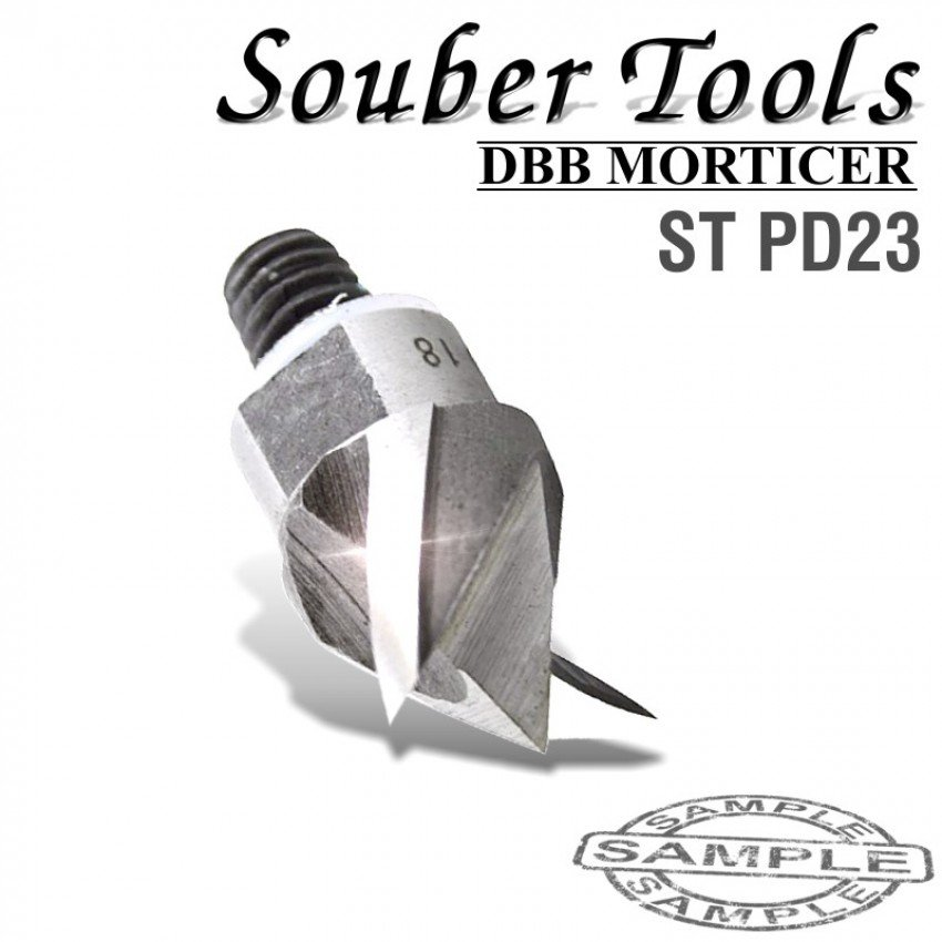 Souber Tools Plunging Cutter 23mm/Lock Morticer For Tubular Latches Screw Type