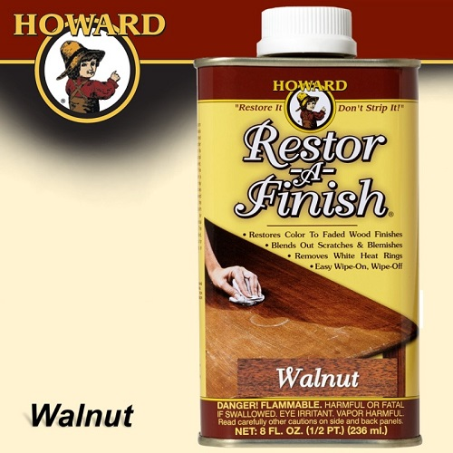 Howard Restor-A-Finish Walnut 8 FL.OZ