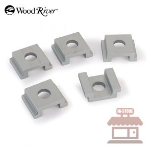 WoodRiver 5-Piece Miter Track Mount