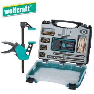 Wolfcraft Undercover Jig Set + EHZ 75-150 Easy One-hand Clamp